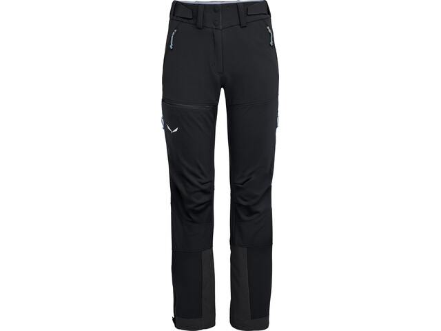 SALEWA Ortles 2 WS/DST Pantalones Mujer, black out